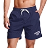 Adoretex Men's Quick Dry Mesh Lining with Pockets Lifeguard Boardshorts - MG012